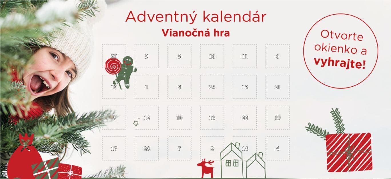 adventný kalendár CEWE